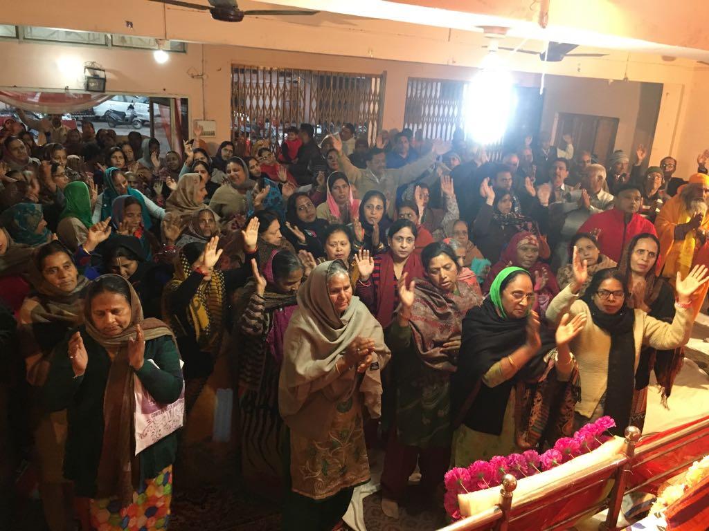 गौरी शंकर मंदिर जगाधरी में श्रीमद भागवत कथा का हुआ आयोजन