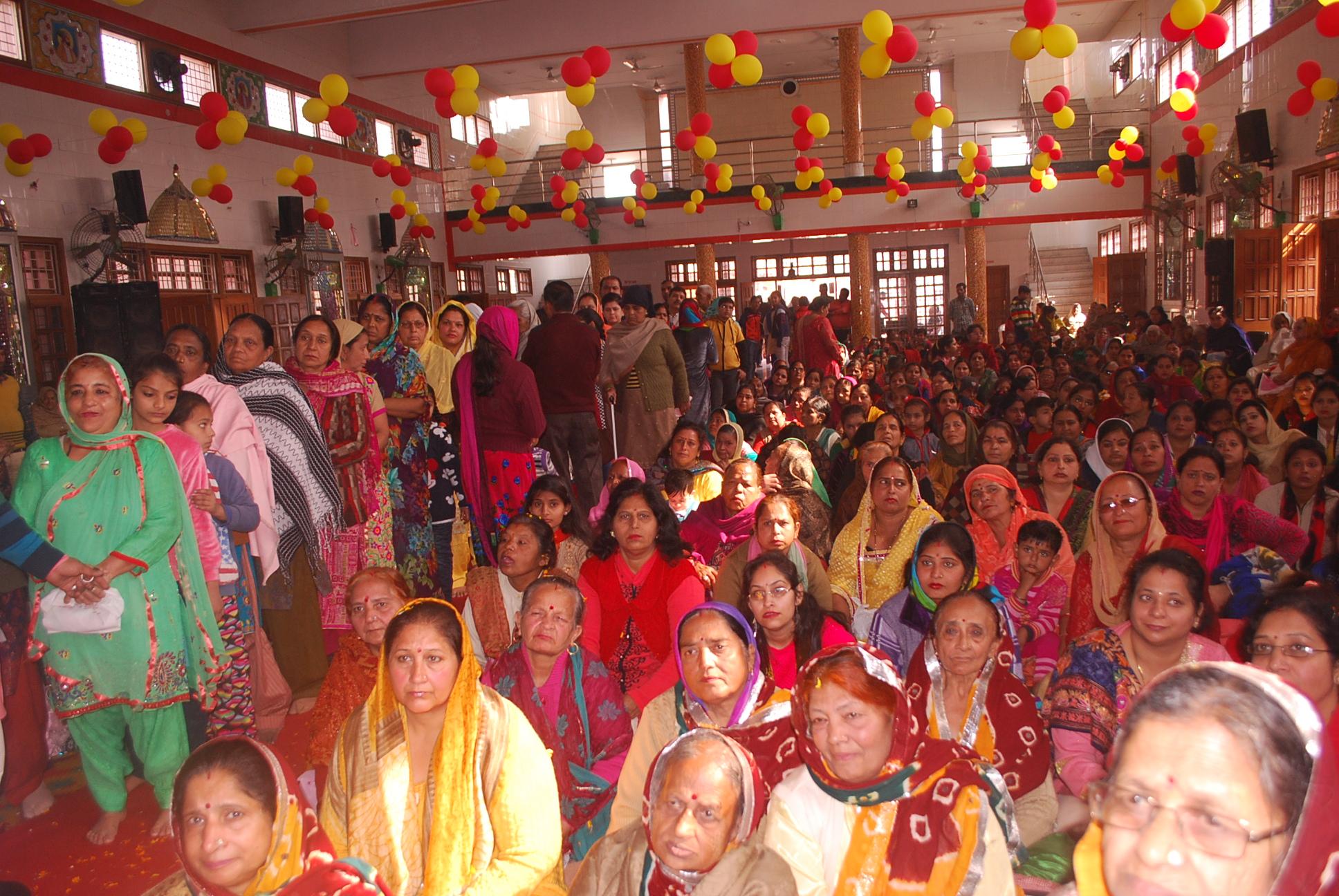 यमुनानगर में महंत द्वारका दास जी महाराज के जन्म दिवस पर आयोजित हुआ समारोह