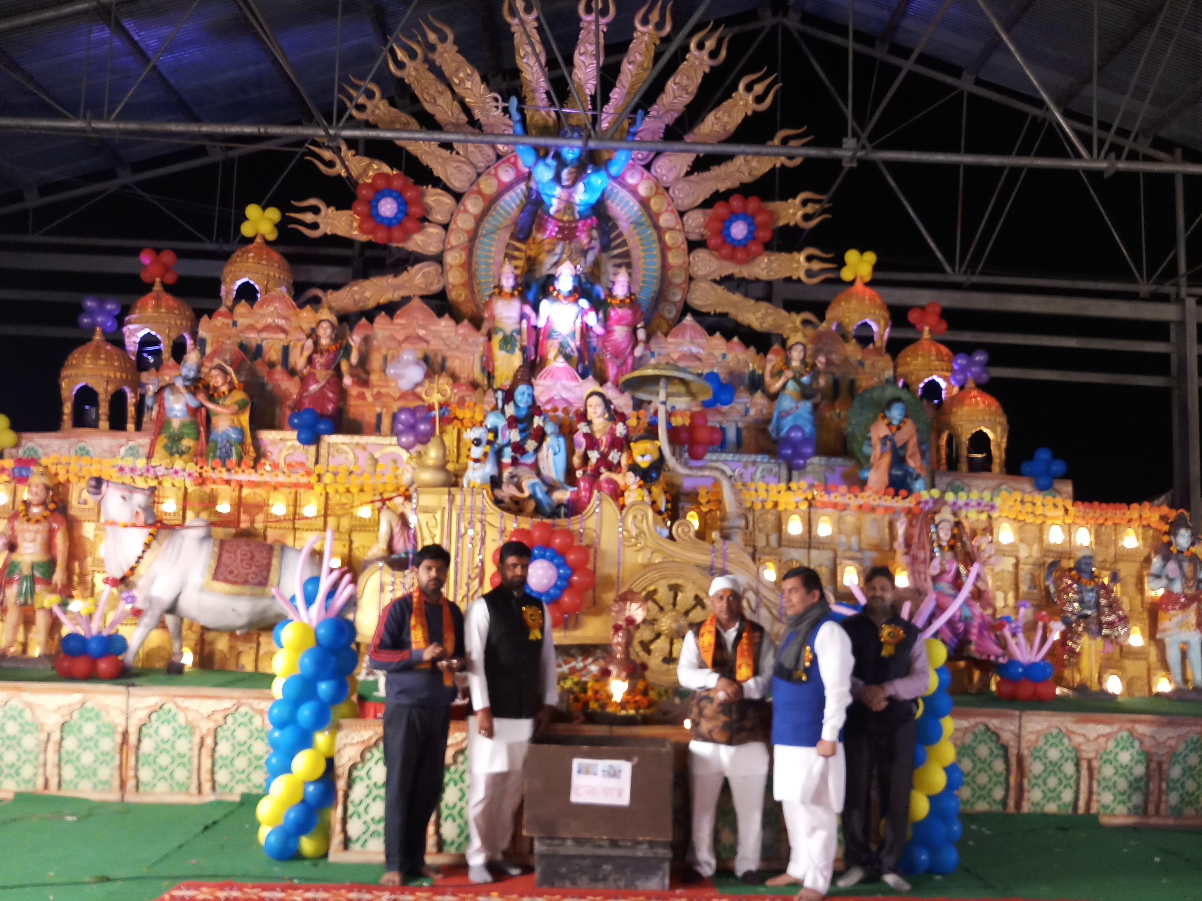 यमुनानगर के बिलासपुर में शिव जागरण का आयोजन