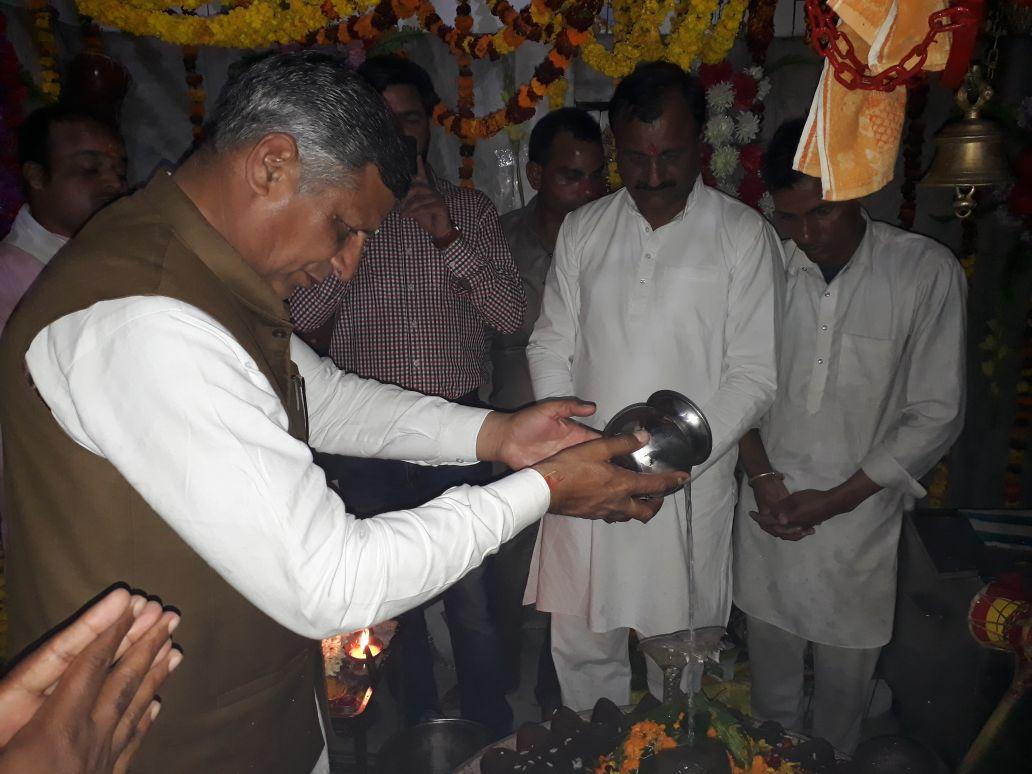 जगाधरी के गौरी शंकर मंदिर में उमड़ा भक्तों का सैलाब