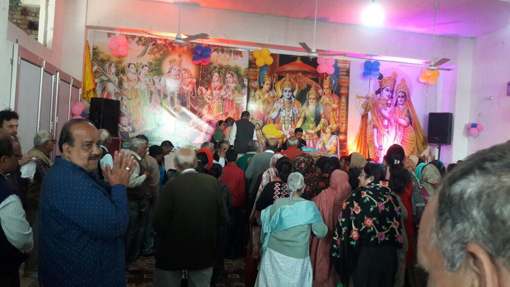 शिवमंदिर जगाधरी में श्रीराम कथा संपन्न
