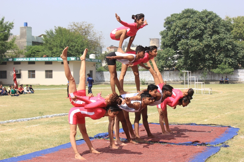 Yamunanagar Hulchul sports programme in gnk college yamunanagar