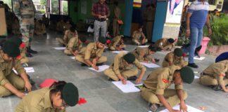 जवाहर नवोदय विद्यालय चुहरपुर में संचालित दस दिवसीय वार्षिक परिशिक्षण शिवर