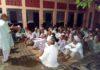 साढौरा में नगर पंचायत समिति द्वारा आयोजित बैठक में लोगों को संबोधित करते अशोक मेहता