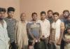 रियाणा वाल्मीकि महासभा की गांव पलाका में आयोजित हुई बैठक में भाग लेने पहुंचे सदस्य।