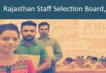 Rajasthan-Staff-Selection-Board