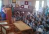 जिला बाल संरक्षण इकाई ने सर्वोदय विद्या मंदिर हाई स्कुल भम्भौली में पोक्सो एक्ट पर जागरुक शिविर लगाया