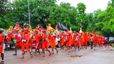 yamunanagar hulchul kanwad yatra om nahom shivay