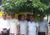 लॉयस क्लब यमुनानगर-जगाधरी के सदस्य सिविल अस्पताल यमुनानगर में मरीजों को भोजन वितरित करने जाते हुए