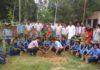 झंडा स्कूल में वन महोत्सव के तहत किया पौधारोपण